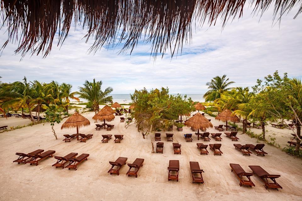 Beach at Villas Hm Paraiso Del Mar, Holbox