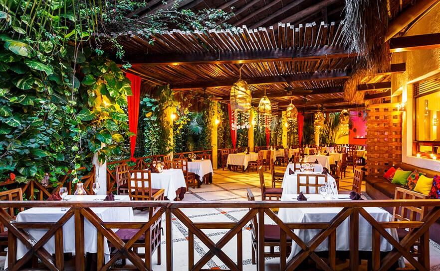 Restaurant at Villas Hm Paraiso Del Mar, Holbox
