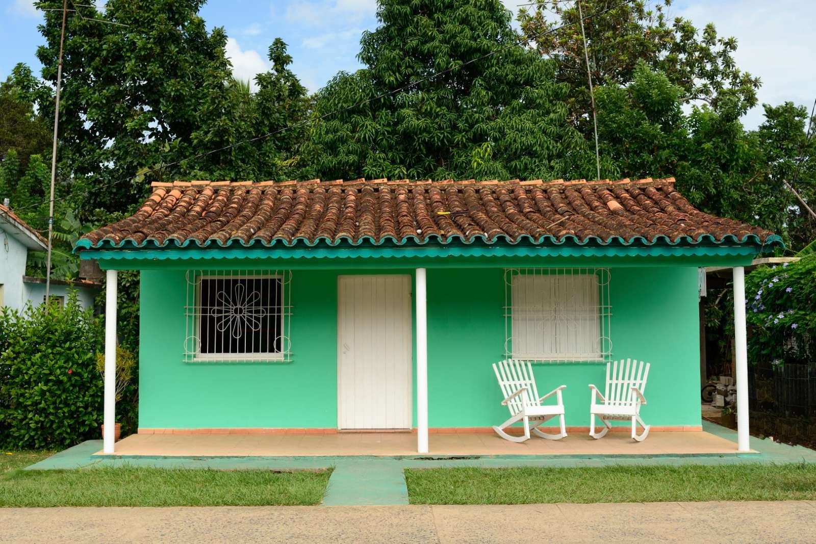 Traditional, small house in Vinales