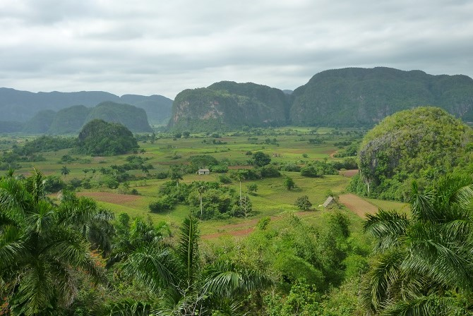 The Vinales Valley in the western Cuban province of Pinar del Rio