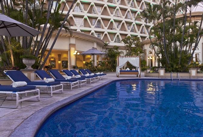 Swimming pool Guatemala City hotel
