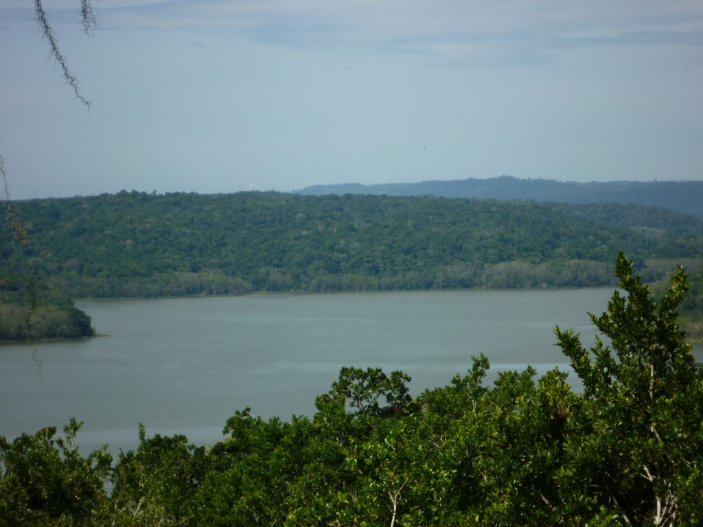 Lake at Yaxha