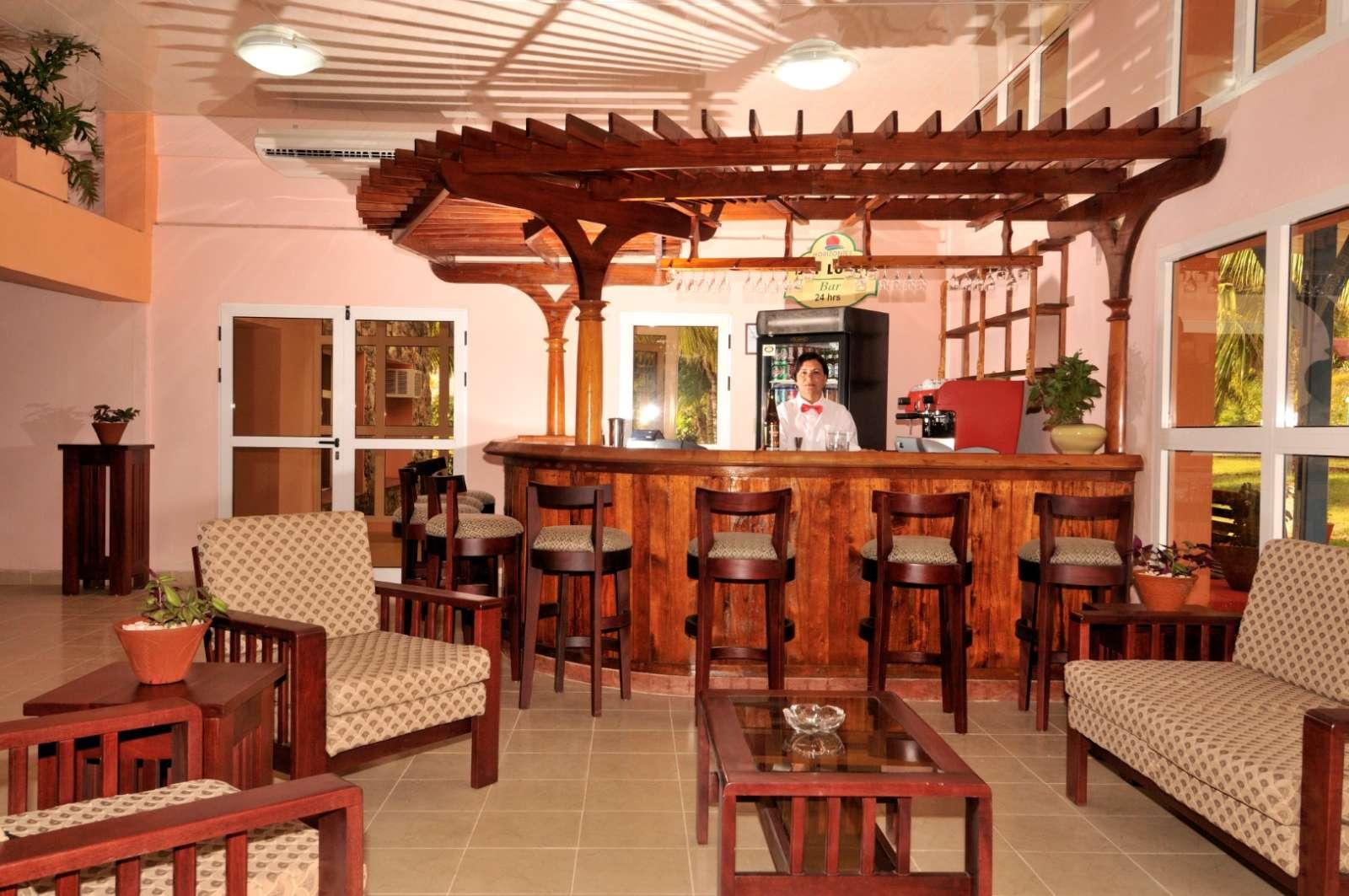 Bar at Hotel Playa Larga