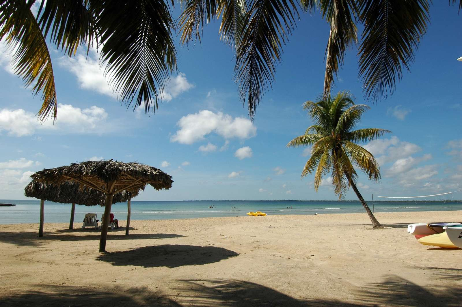 Beach at Hotel Playa Larga