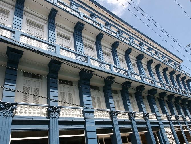 The exterior of the Iberostar Gran Santiago de Cuba