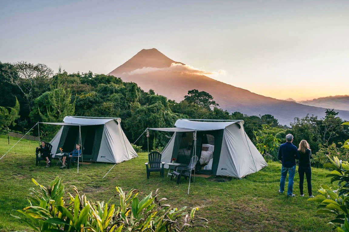 Antigua Glamping Campsite in Guatemala