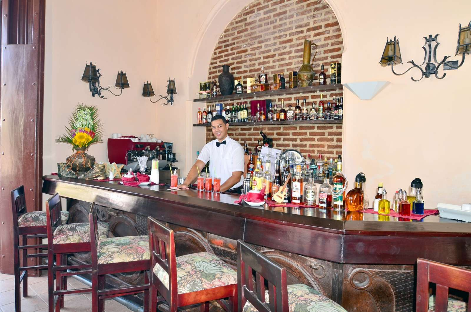 Barman at Camino de Hierro