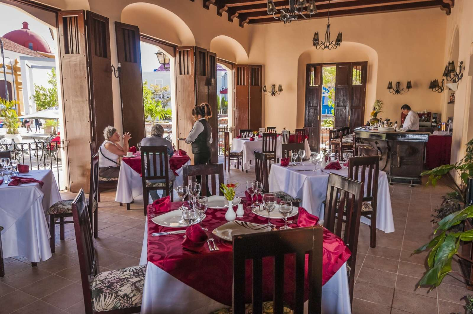 Restaurant at Camino de Hierro