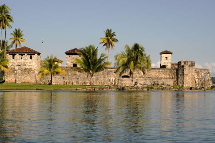 Castillo San Felipe on the Rio Dulce in Guatemala