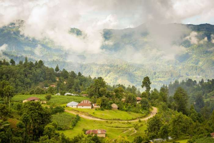 Beautiful countryside in the Ixil Triangle of Guatemala