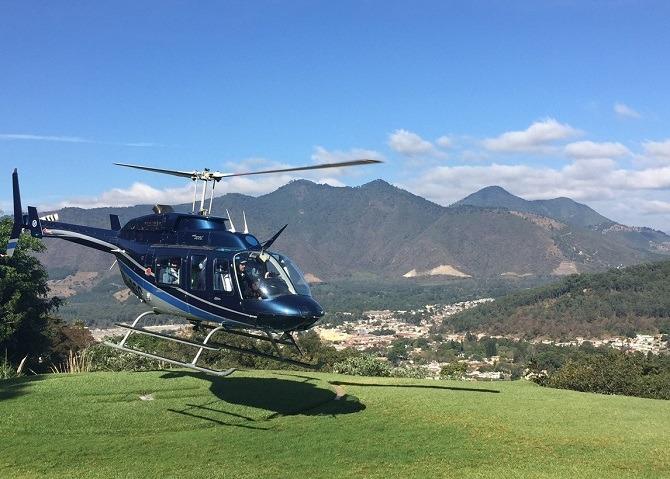 Helicopter Guatemala
