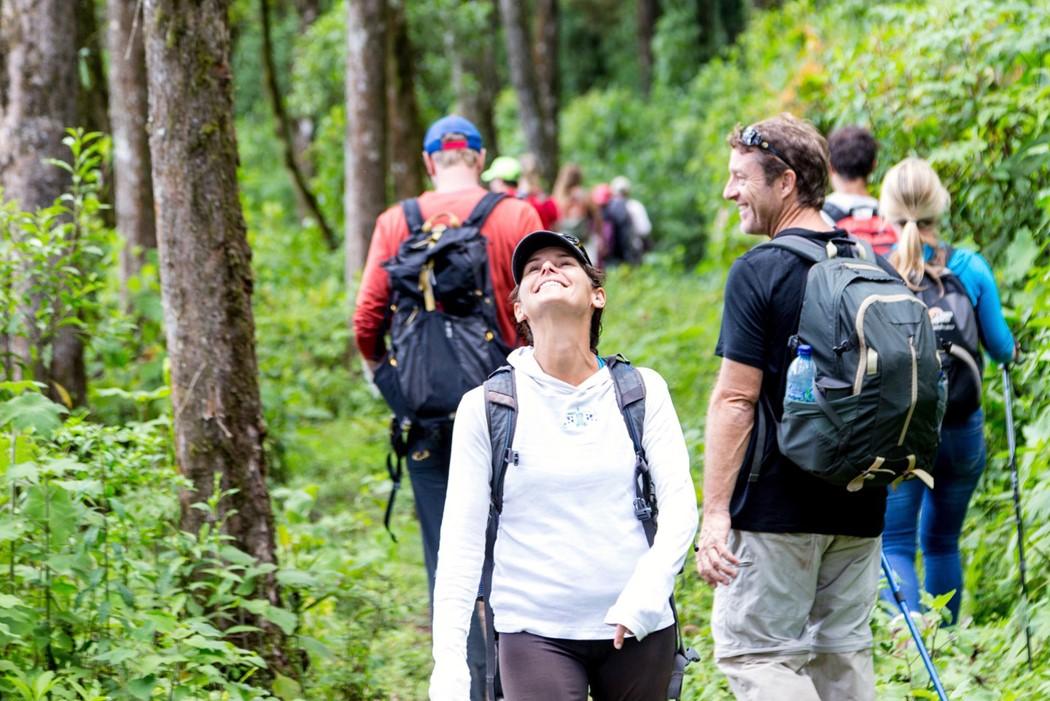 Hiking in Guatemala