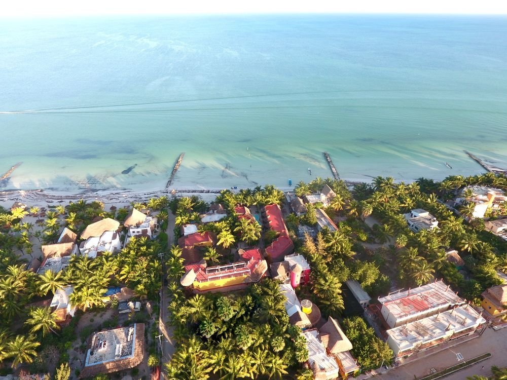 Hotel Holbox Dream Aerial