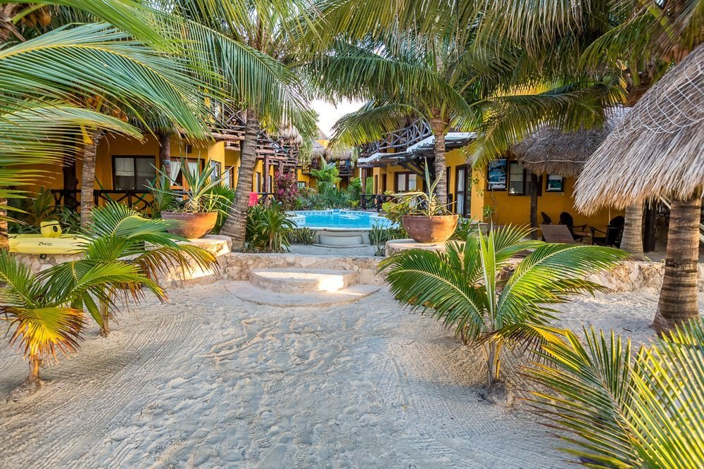 Hotel Holbox Dream Beach Entrance