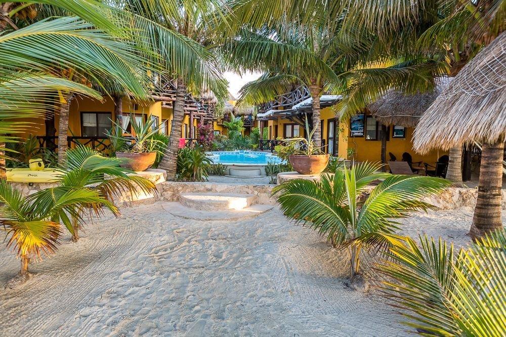 Hotel Holbox Dream Beach Entrance