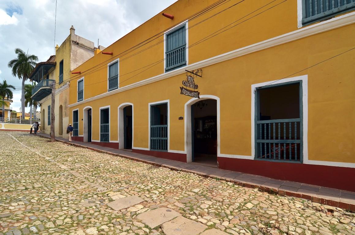 Hotel Meson Del Regidor Trinidad Entrance