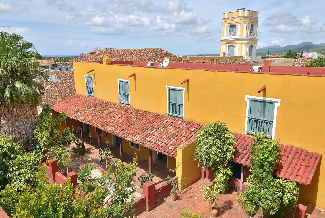 Hotel Meson Del Regidor Trinidad Interior