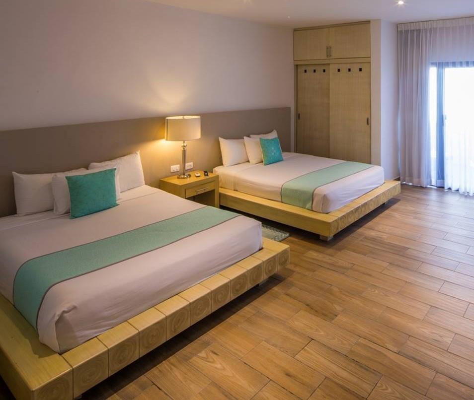 Hotel Ojo De Agua Bedroom