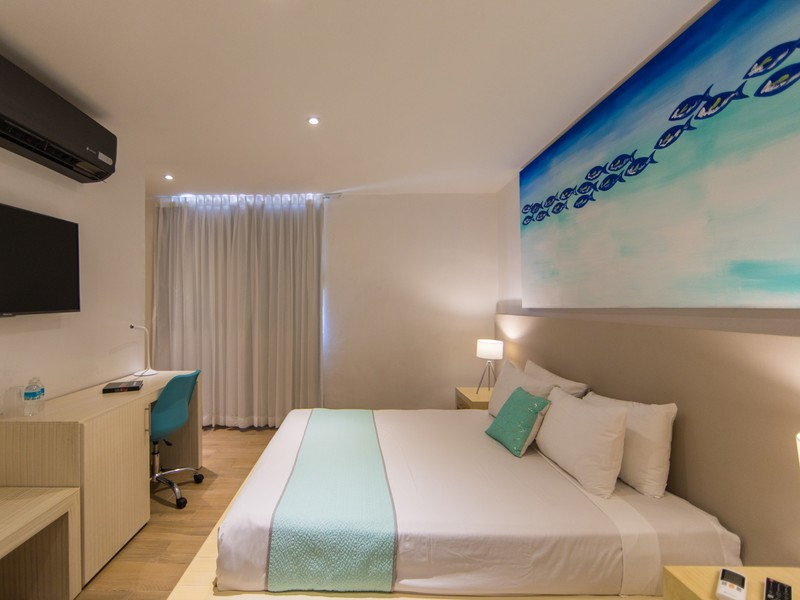 Hotel Ojo De Agua Queen Bed