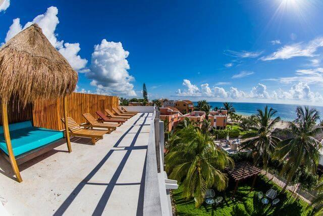 Hotel Ojo De Agua Roof Terrace