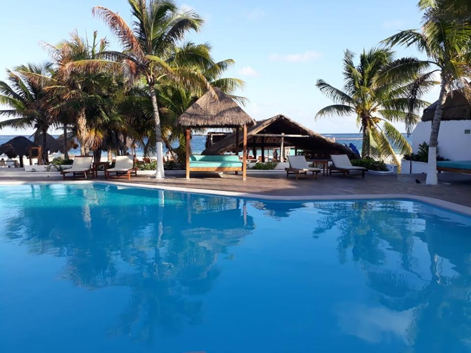 Hotel Ojo De Agua Swimming Pool