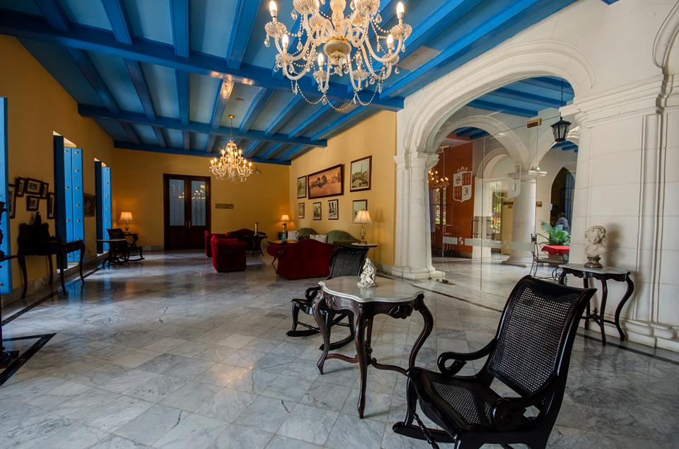 Hotel Santa Isabel Havana Entrance
