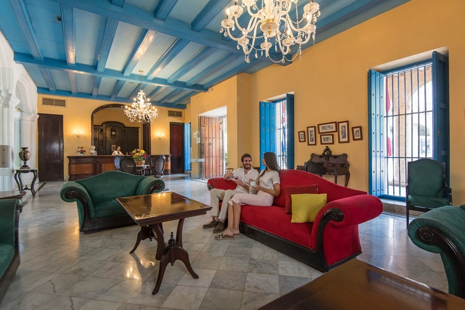 Hotel Santa Isabel Havana Lounge