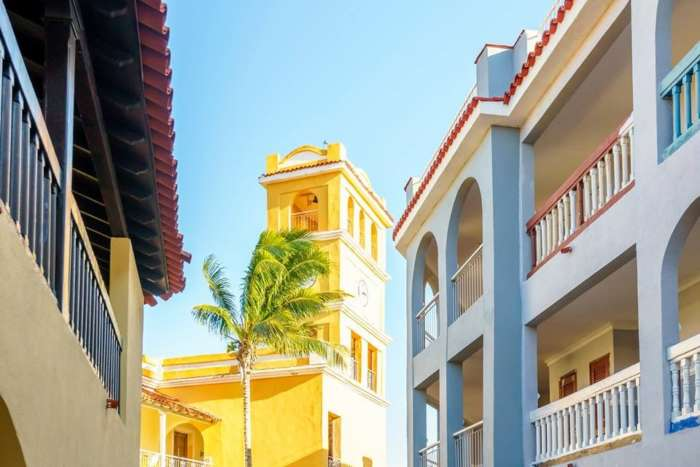 Colonial architecture at Memories Trinidad Del Mar in Cuba