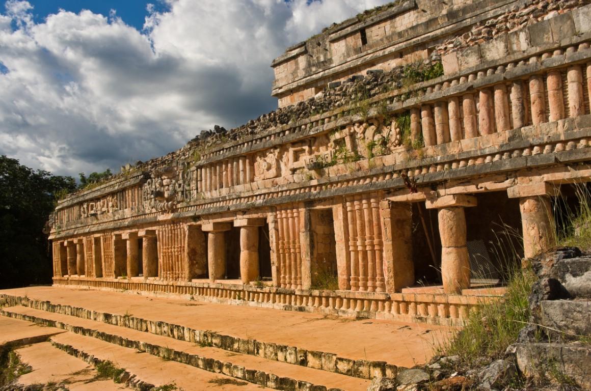 Ruins of Sayil in the Yucatan