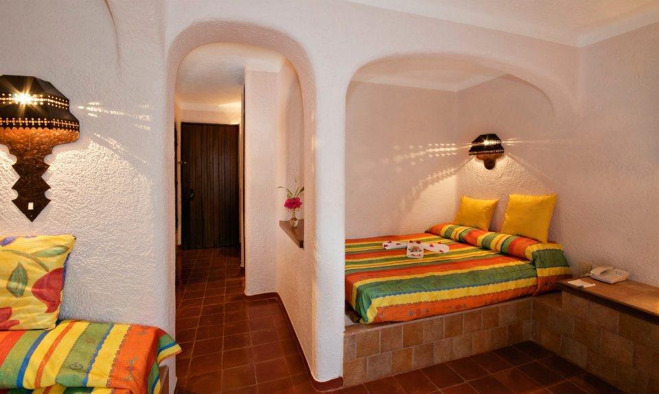 Villas Arqueologicas Chichen Itza Bedroom