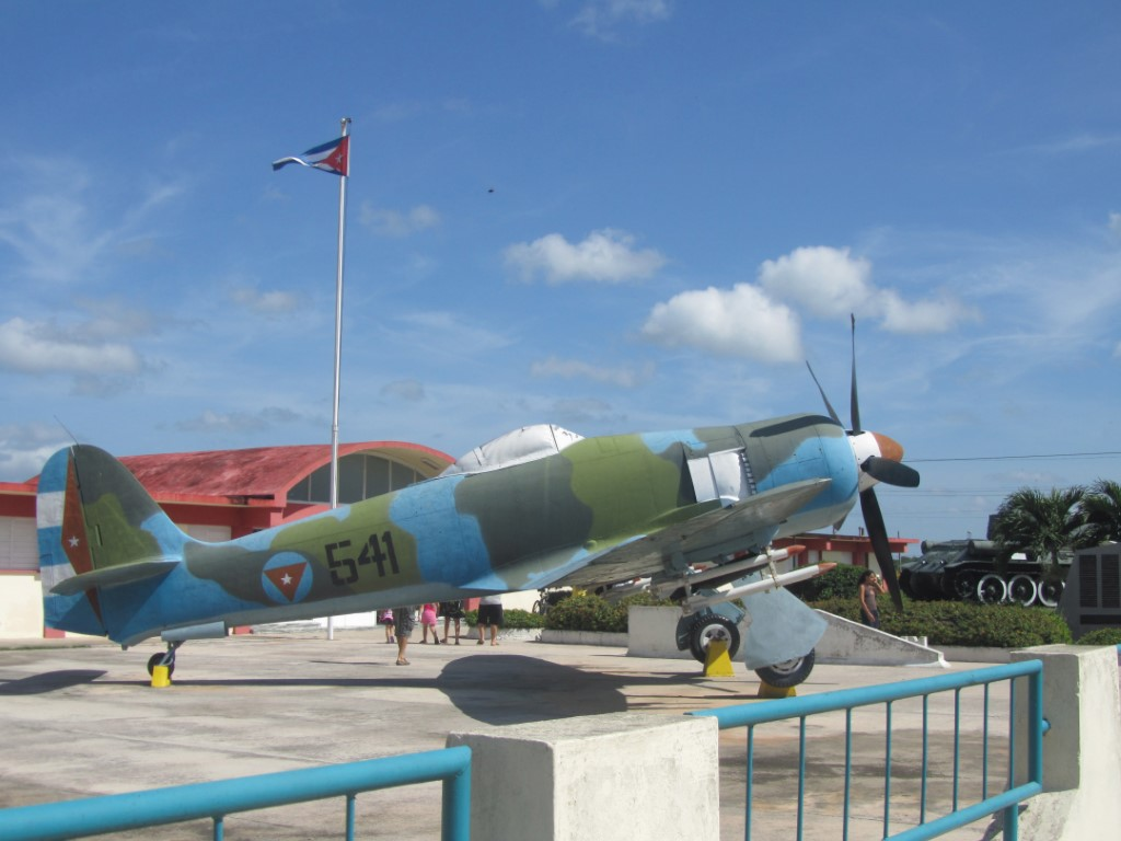 The museum at the Bay of Pigs in Cuba