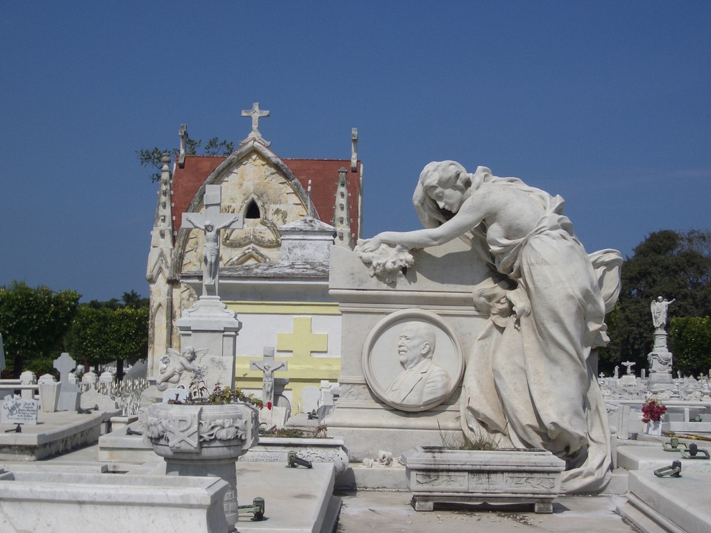 The Cristobal Colon cemetery in Havana Cuba