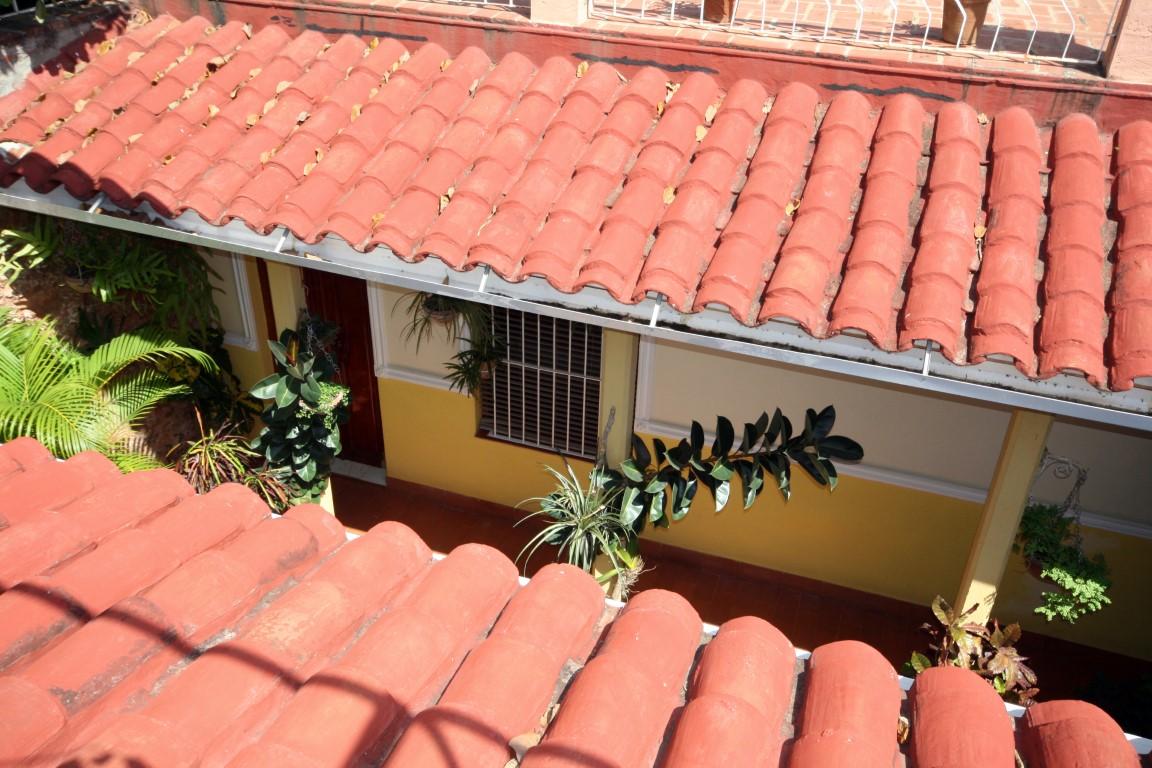 Rooftop view of Buri y Nesti homestay in Trinidad