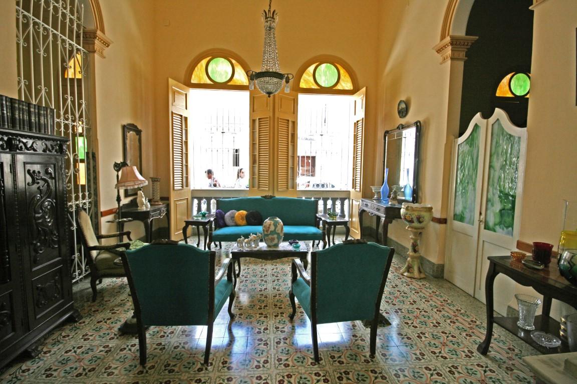 The lounge of Autentica Pergola, a homestay in Santa Clara