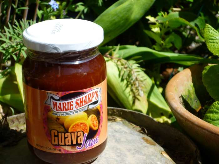 A jar of Marie Sharp's guava jam