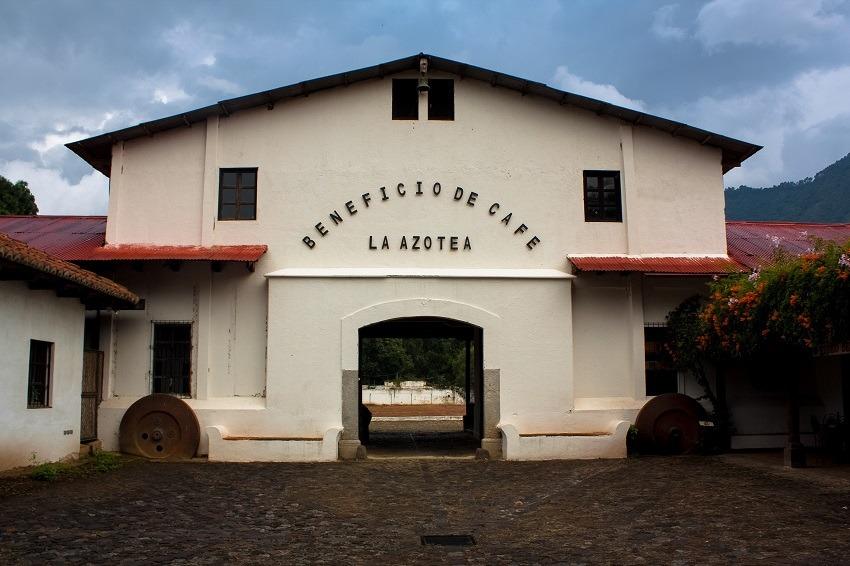 La Azotea entrance