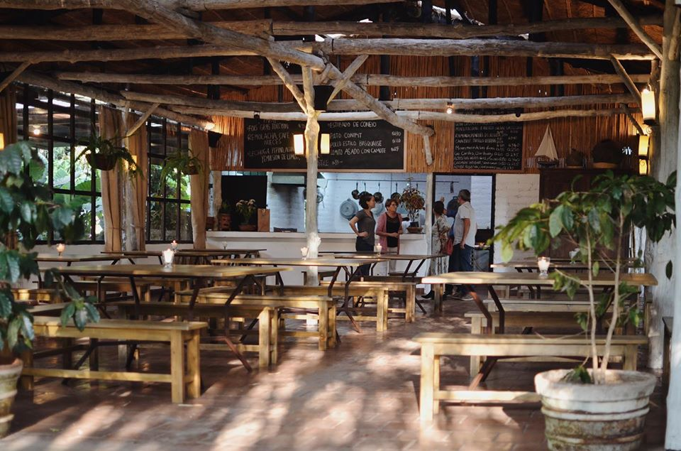 Cafe at La Azotea