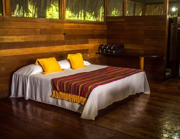 Bedroom at Chiminos Island Lodge
