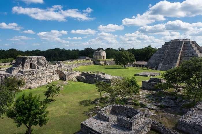 Mayapan ceremonial centre