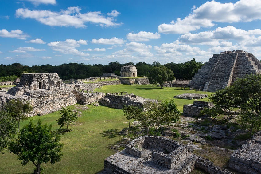 Mayan ruins at Mayapan