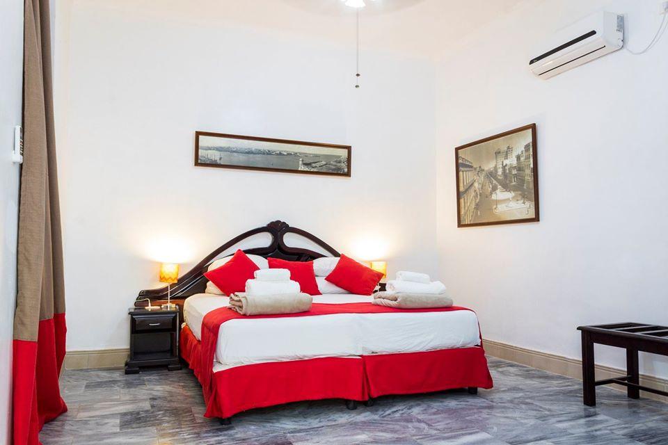Double room at Habana 412