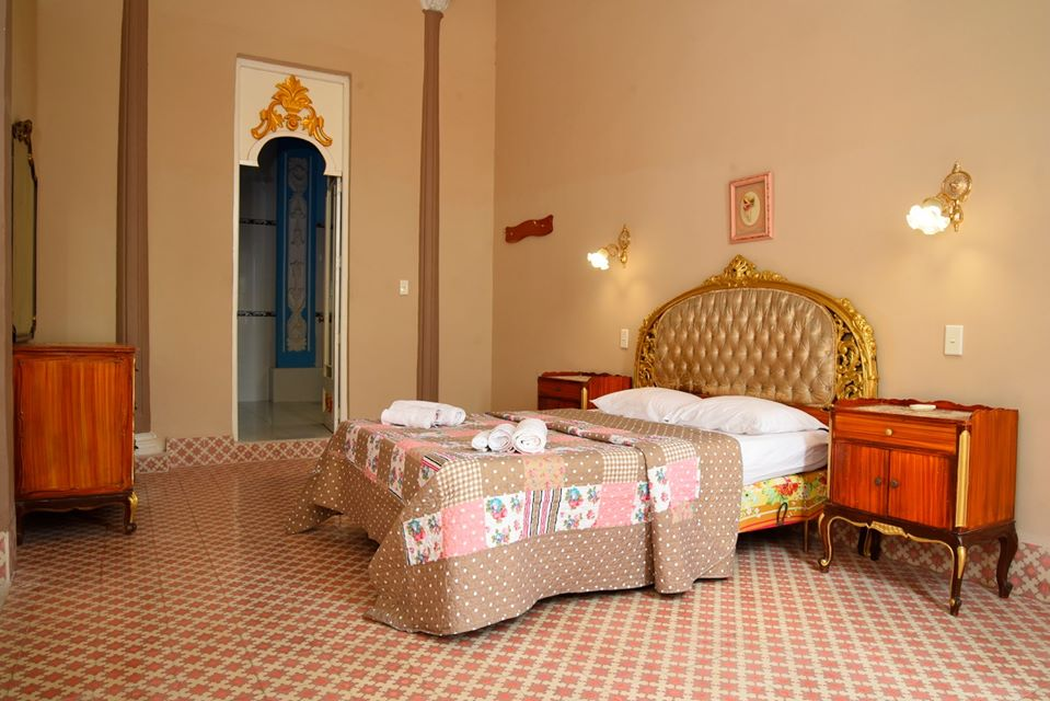 Double room at Palacio Baron Balbin