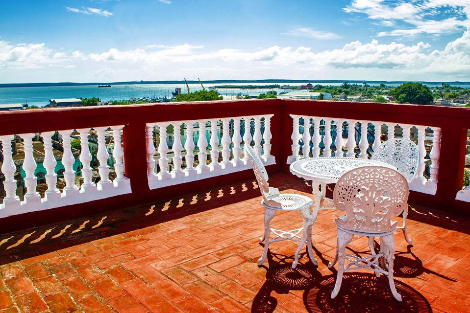 Roof terrace at Palacio Baron Balbin