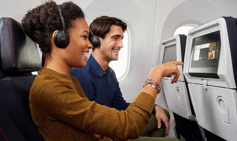 Air France passengers