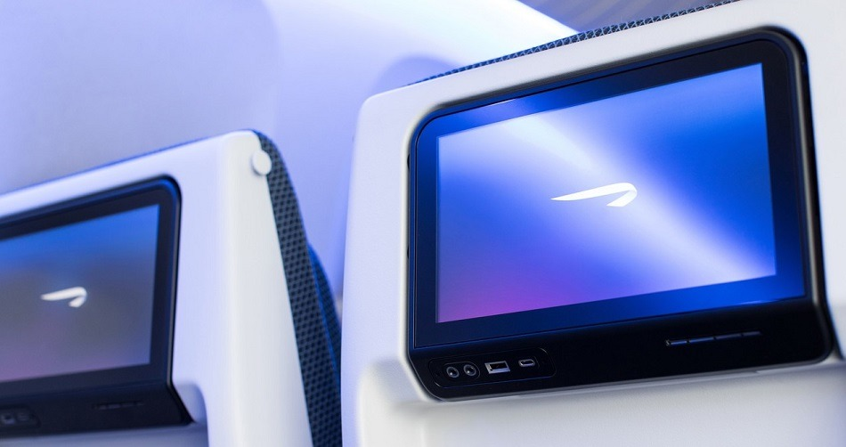 British Airways Seatback Tv