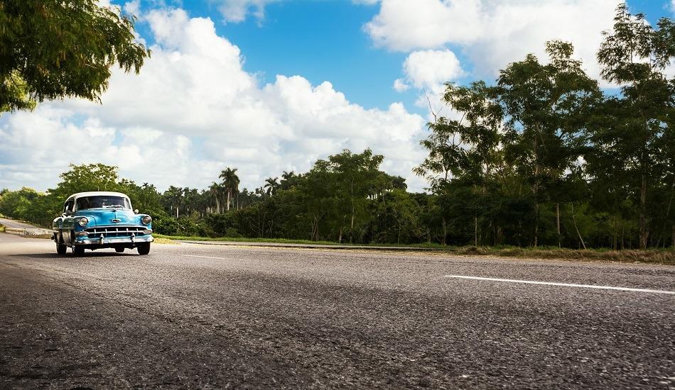 Autopista in Cuba