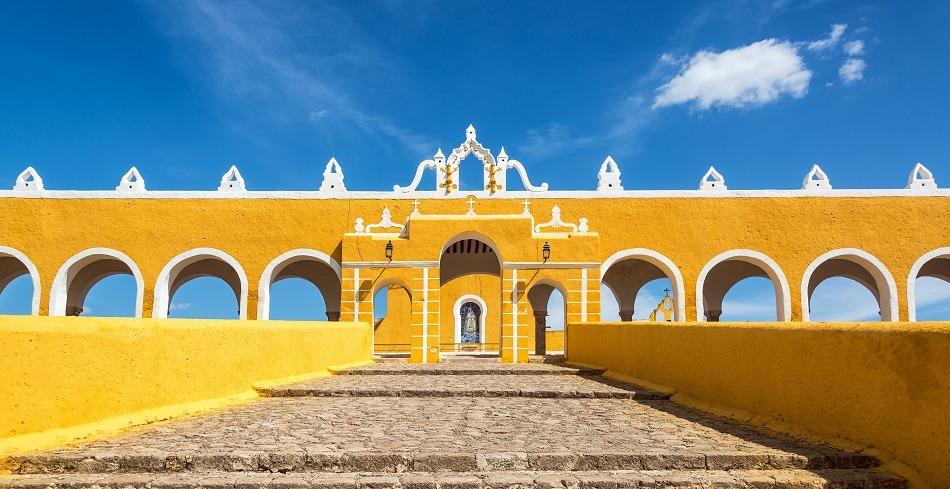 Steps in monastery