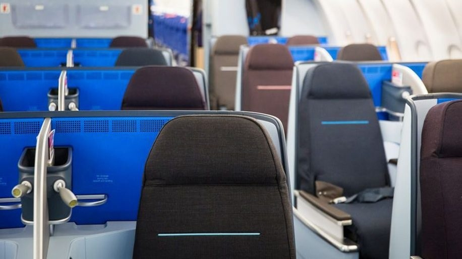 KLM business class to Havana
