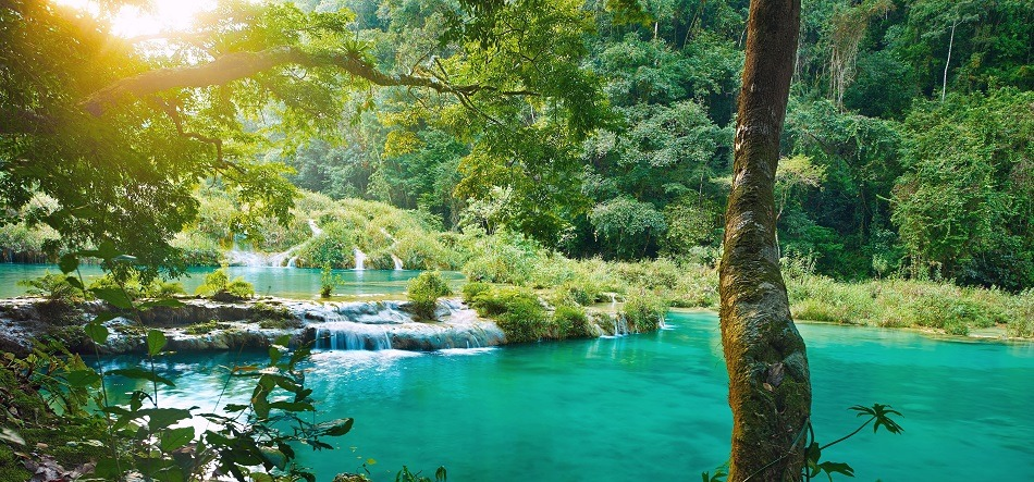 Natural pools at Semuc Champey