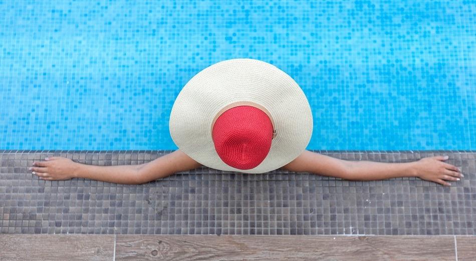 Pool in Trinidad, Cuba